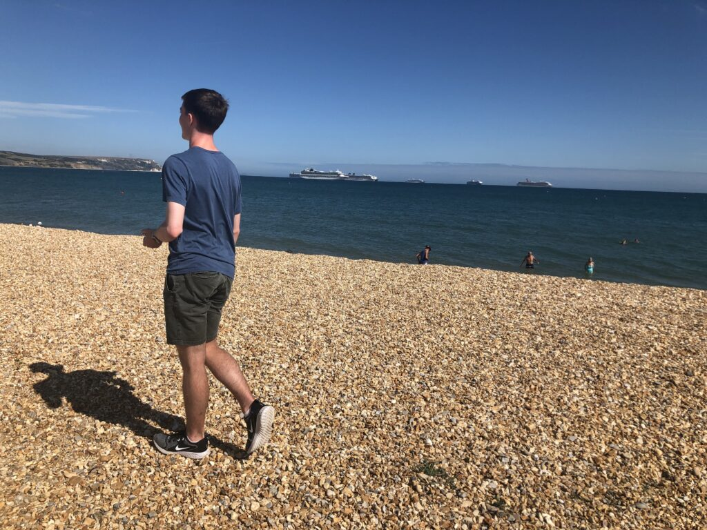 Weymouth, Son, Teenager, Beach, Silent Sunday, My Sunday Photo