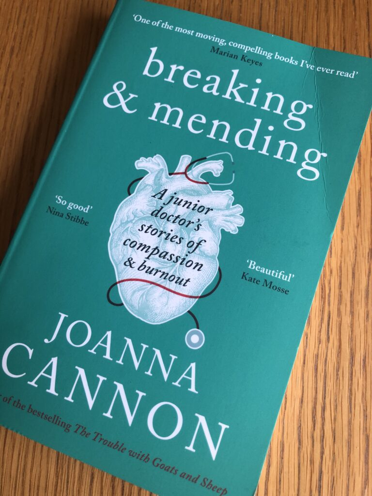 Breaking & Mending, Breaking & Mending by Joanna Cannon, Joanna Cannon, Book review