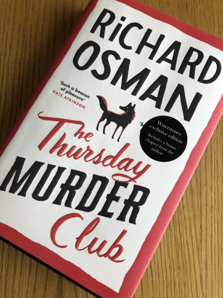 The Thursday Murder Club, The Thursday Murder Club review, Book review, Richard Osman, The Thursday Murder Club by Richard Osman
