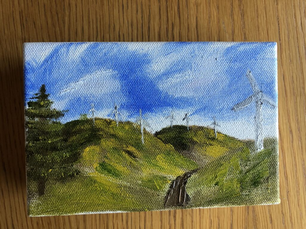 Painting, Artwork, Oil painting, Landscape painting, My Sunday Photo, Silent Sunday