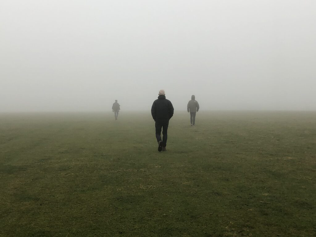 Misty, Husband, Sons, Countryside, Silent Sunday, My Sunday Photo