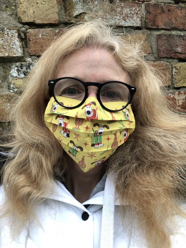 Mask, Selfie, Gromit, Christmas, Coronavirus, Covid-19, Coronavirus restrictions