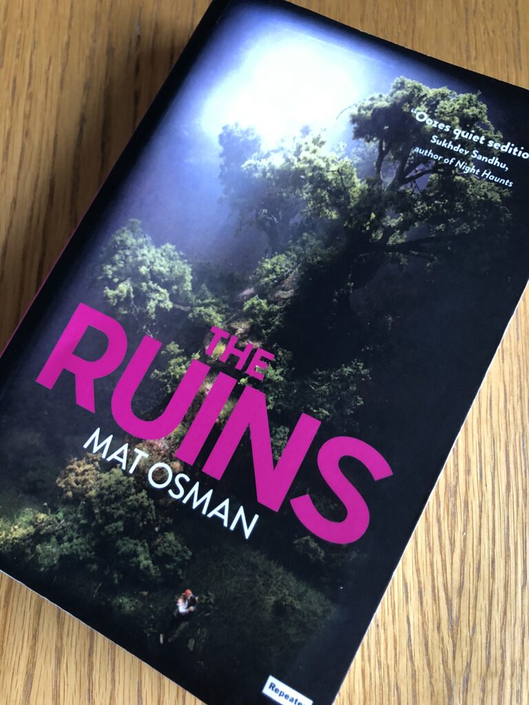 The Ruins, The Ruins by Mat Osman, Mat Osman, Book review, The Ruins review