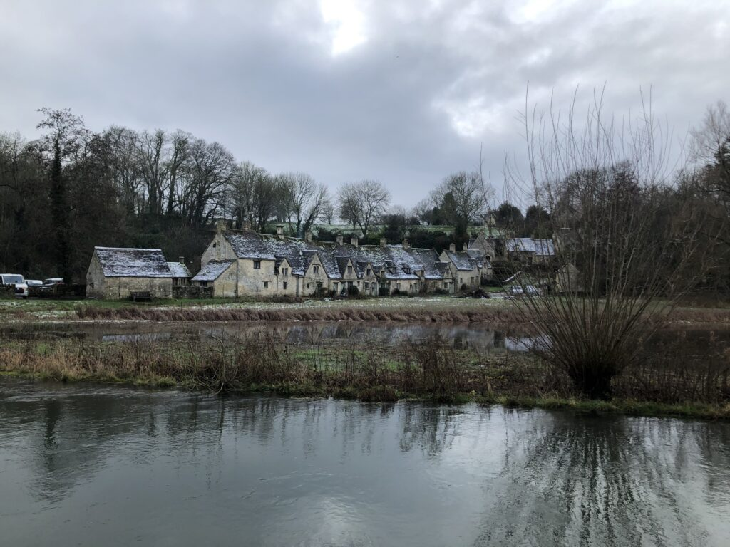 Arlington Row, Bibury, Gloucestershire, Silent Sunday, My Sunday Photo