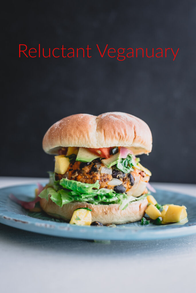 Veganuary, Vegan, Burger