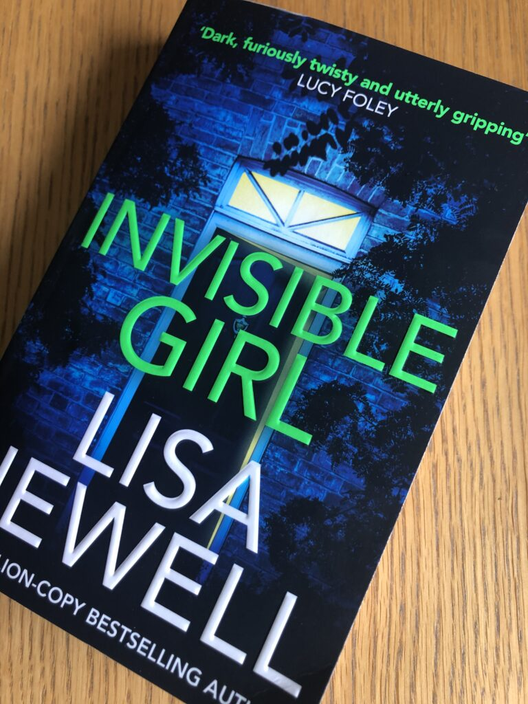 Invisible Girl, Invisible Girl by Lisa Jewell, Lisa Jewell, Book review