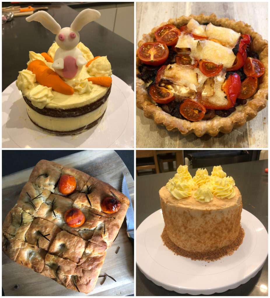 baking, cakes, daughter, savouries, Silent Sunday, My Sunday Photo