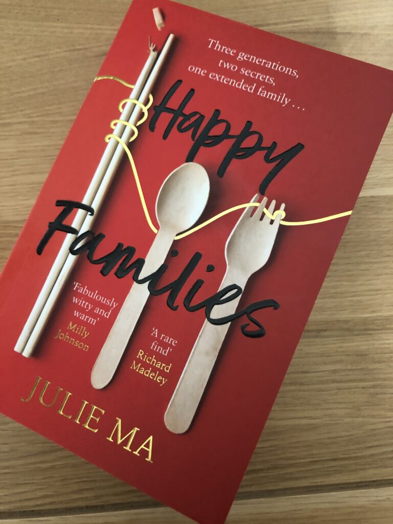 Happy Families, Happy Families review, Happy Families by Julie Ma, Julie Ma, Book review