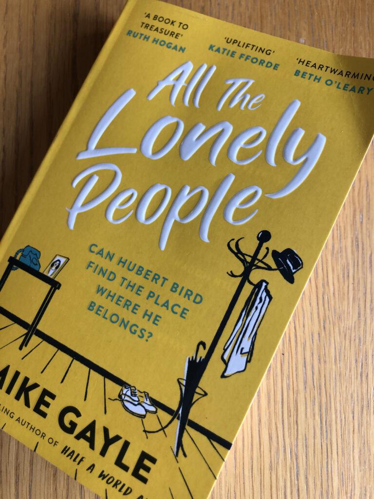 All the Lonely People, All the Lonely People review, All the Lonely People by Mike Gayle, Mike Gayle, Mike Gayle review