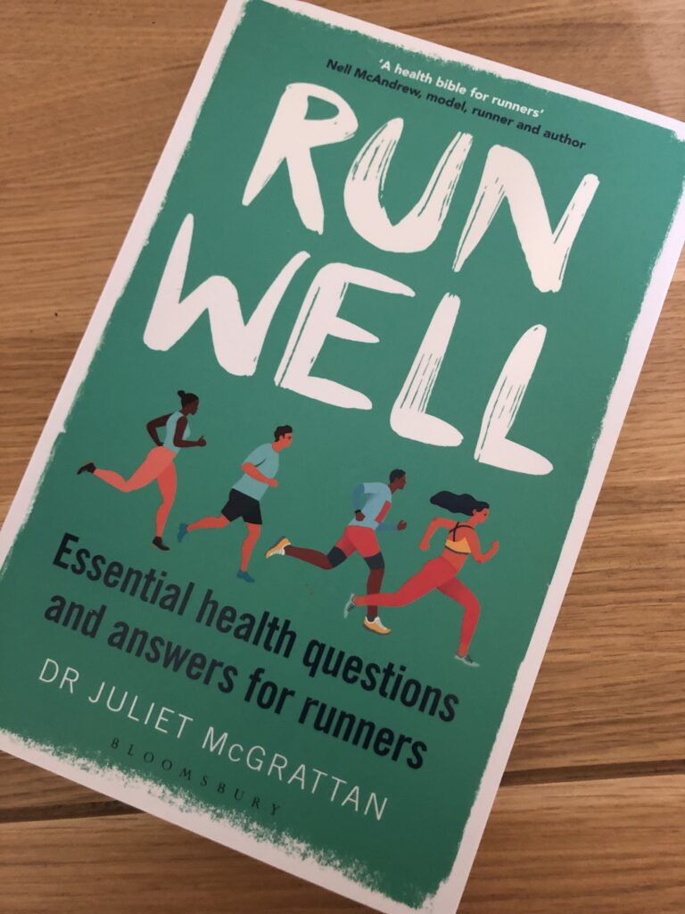 Run Well, Run Well by Dr Juliet McGrattan, Dr Juliet McGrattan, Book review
