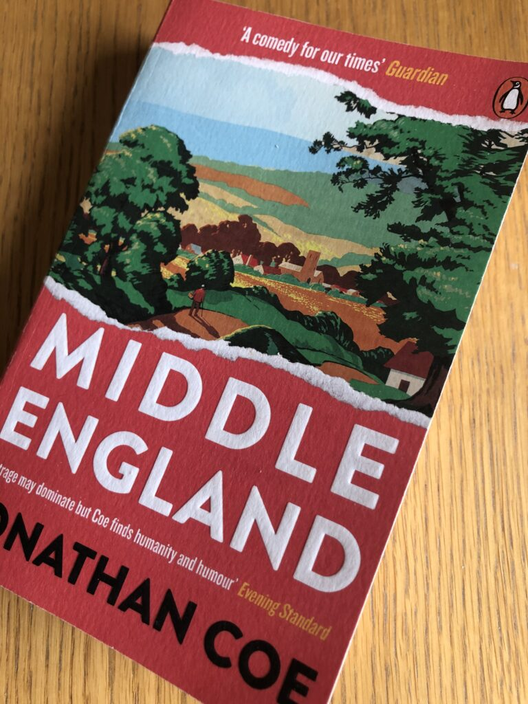 Middle England, Jonathan Coe, Middle England by Jonathan Coe, Book review
