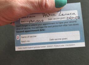 I got my Covid-19 vaccine (at last)