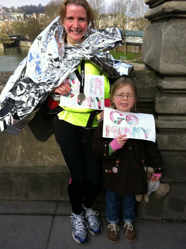 Runner, Running, Running journey, Mum and daughter, Bath half marathon