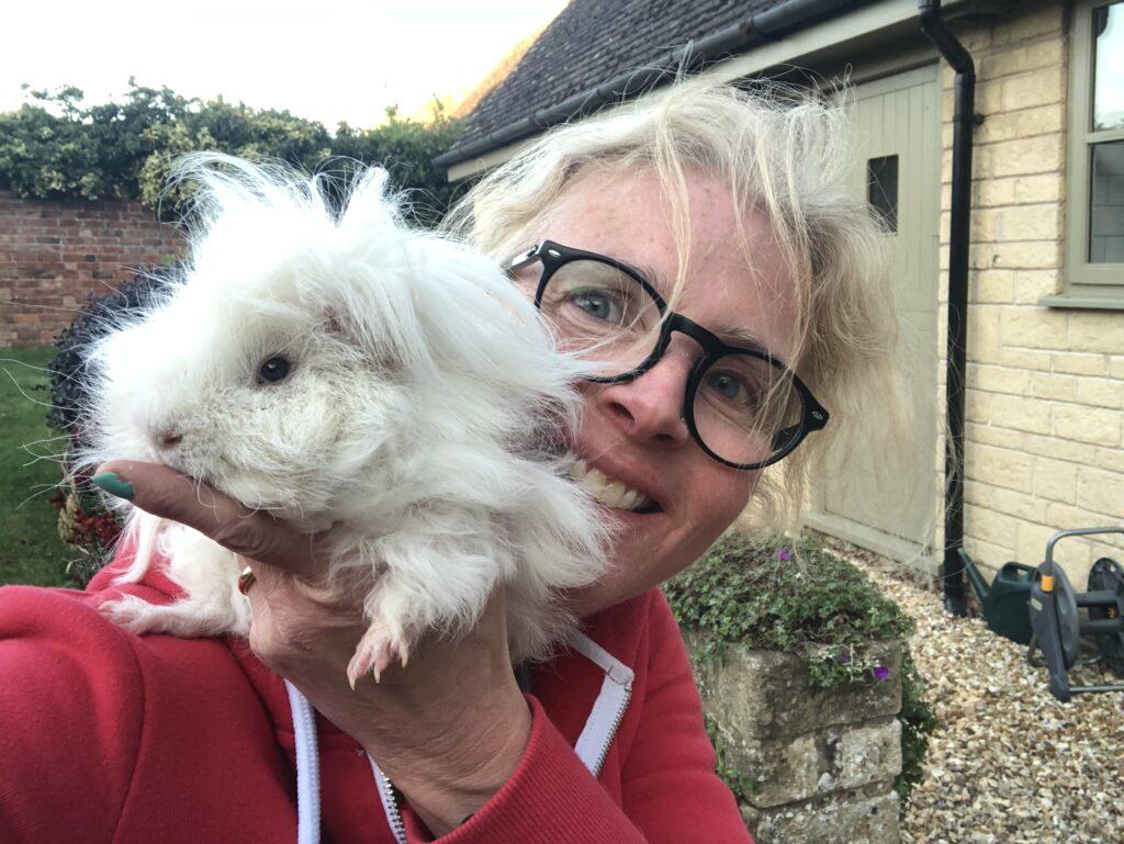 Guinea pig, Herbert, Selfie, Silent Sunday, My Sunday Photo