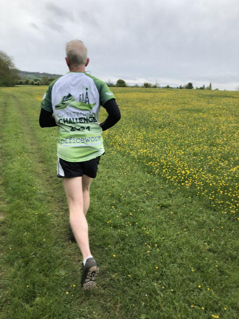Cheltenham Challenge half marathon, Runner, Running, Husband