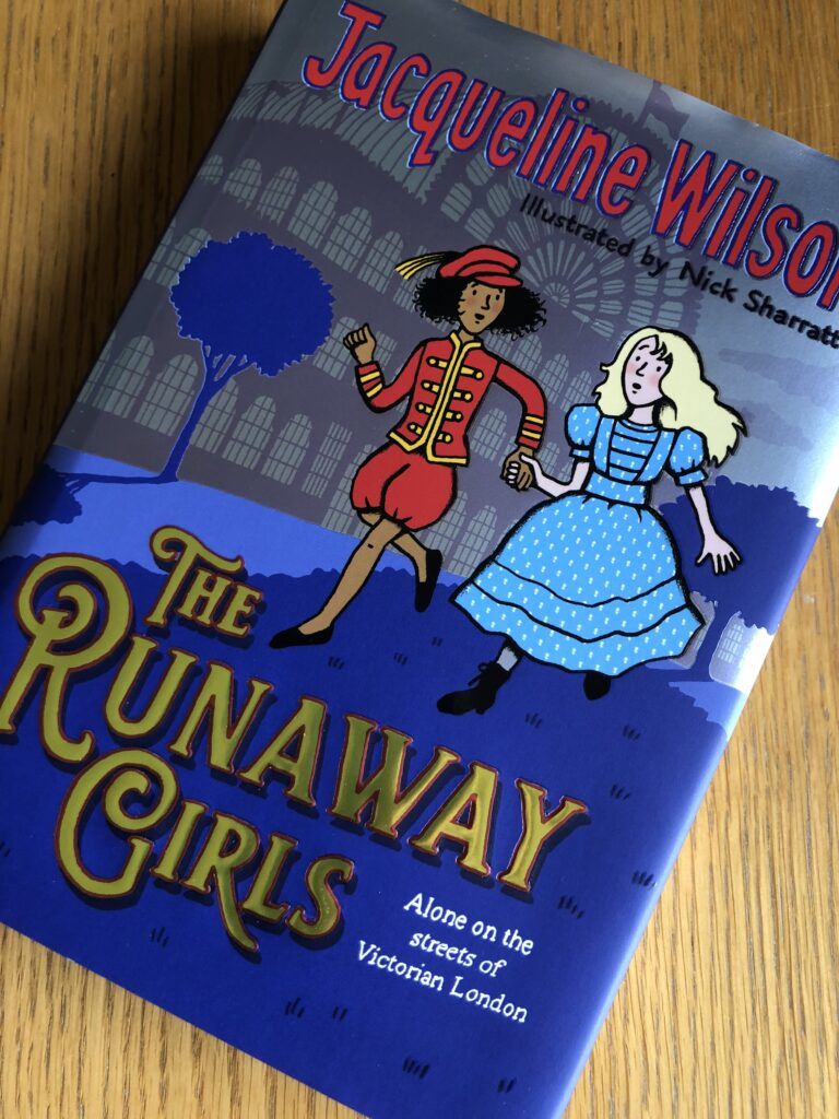 The Runaway Girls, The Runaway Girls by Jacqueline Wilson, Jaqueline Wilson, Book review