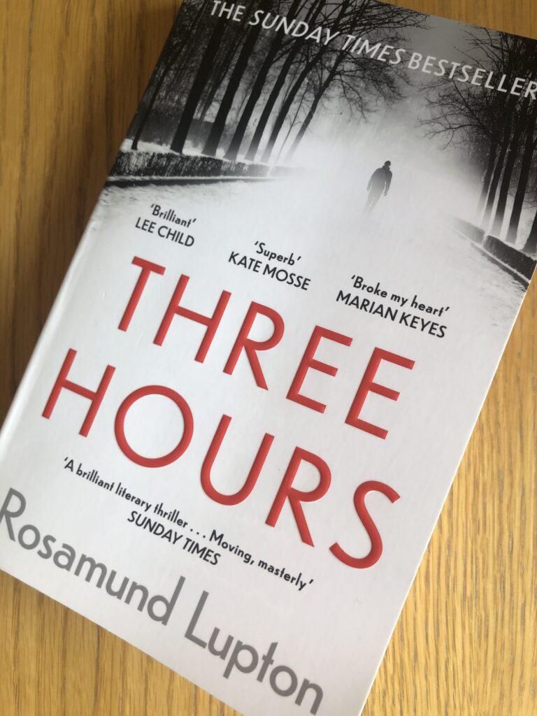 Three Hours, Three Hours by Rosamund Lupton, Book review, Rosamund Lupton