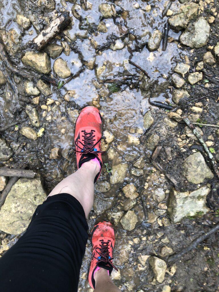 Cheltenham Challenge half marathon, Runner, Trainers, Feet, Trail running