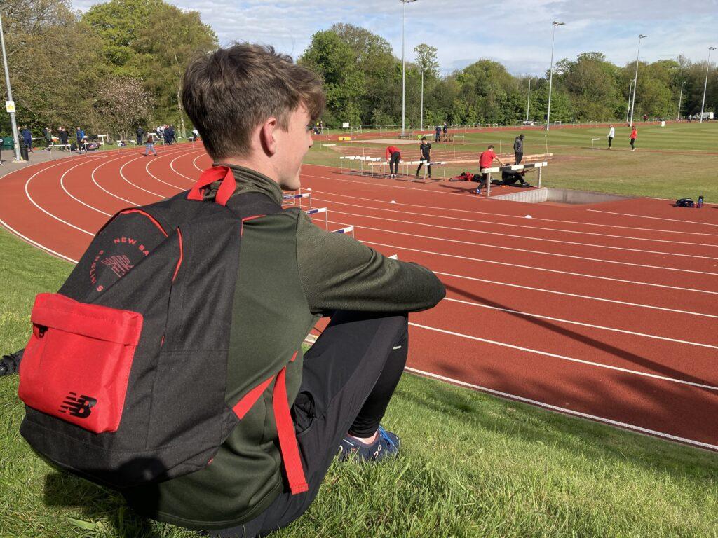 Athlete, Athletics, Son, Teenager, Long jump, PB