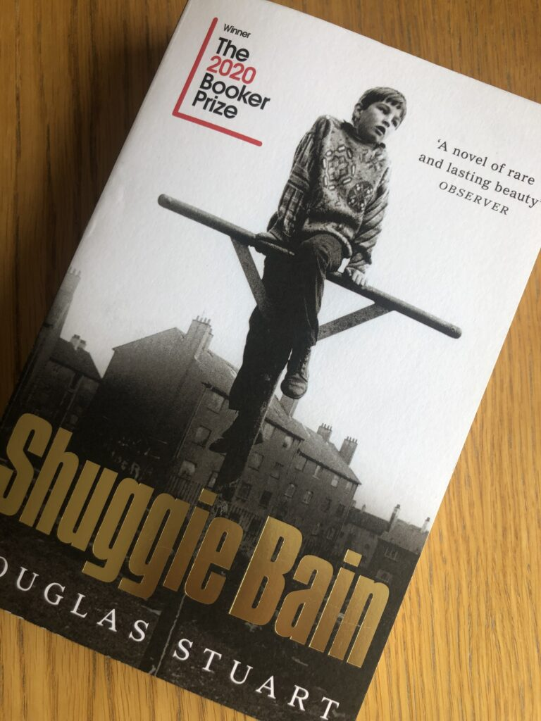 Shuggie Bain, Shuggie Bain by Douglas Stuart, Book review, Douglas Stuart