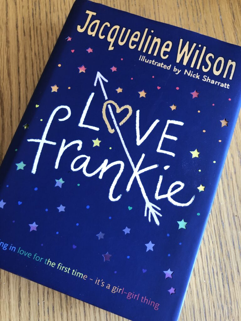 Love Frankie by Jacqueline Wilson, Love Frankie, Book review, Jacqueline Wilson