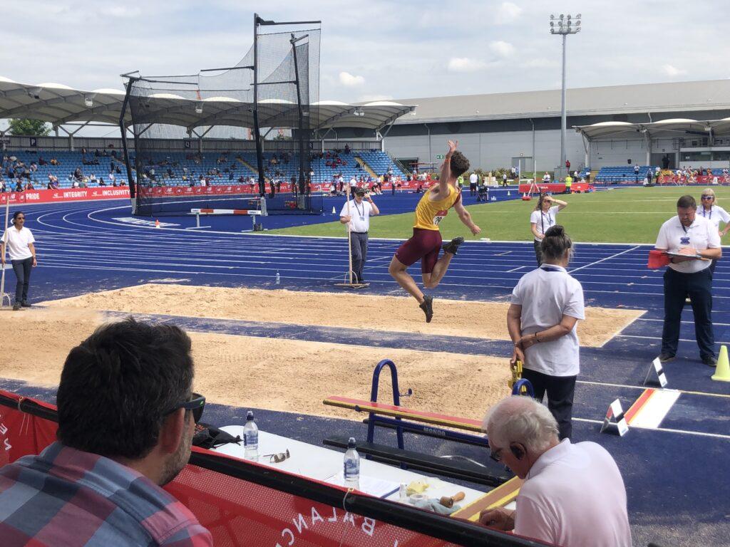 Long jump, Athlete, Athletics, Son, English Schools, English Schools athletics