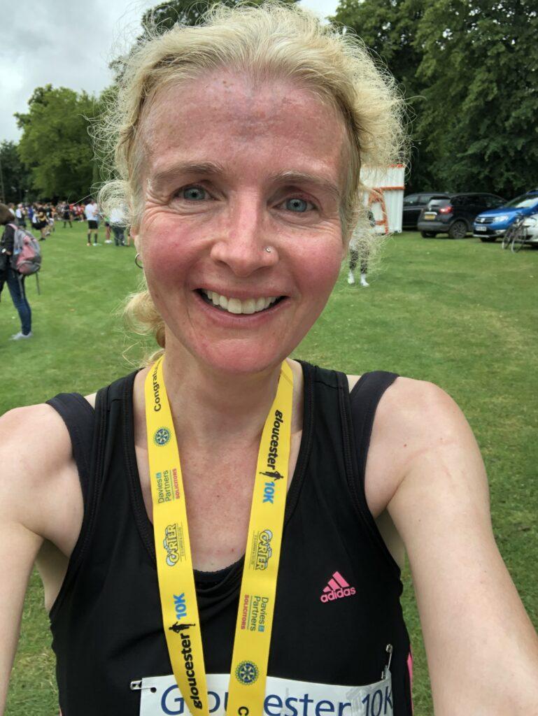 Gloucester 10k, Running, Runner, Medal