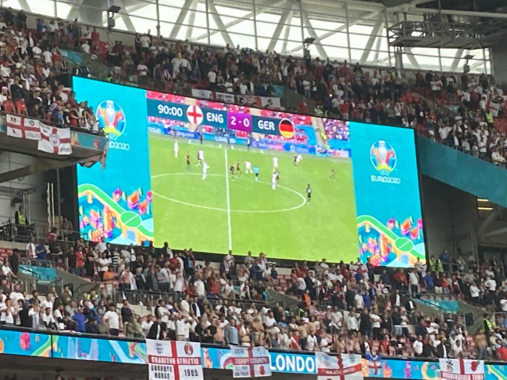 Wembley, Wembley stadium, England v Germany, Euros, Euro 2020, Silent Sunday, My Sunday Photo