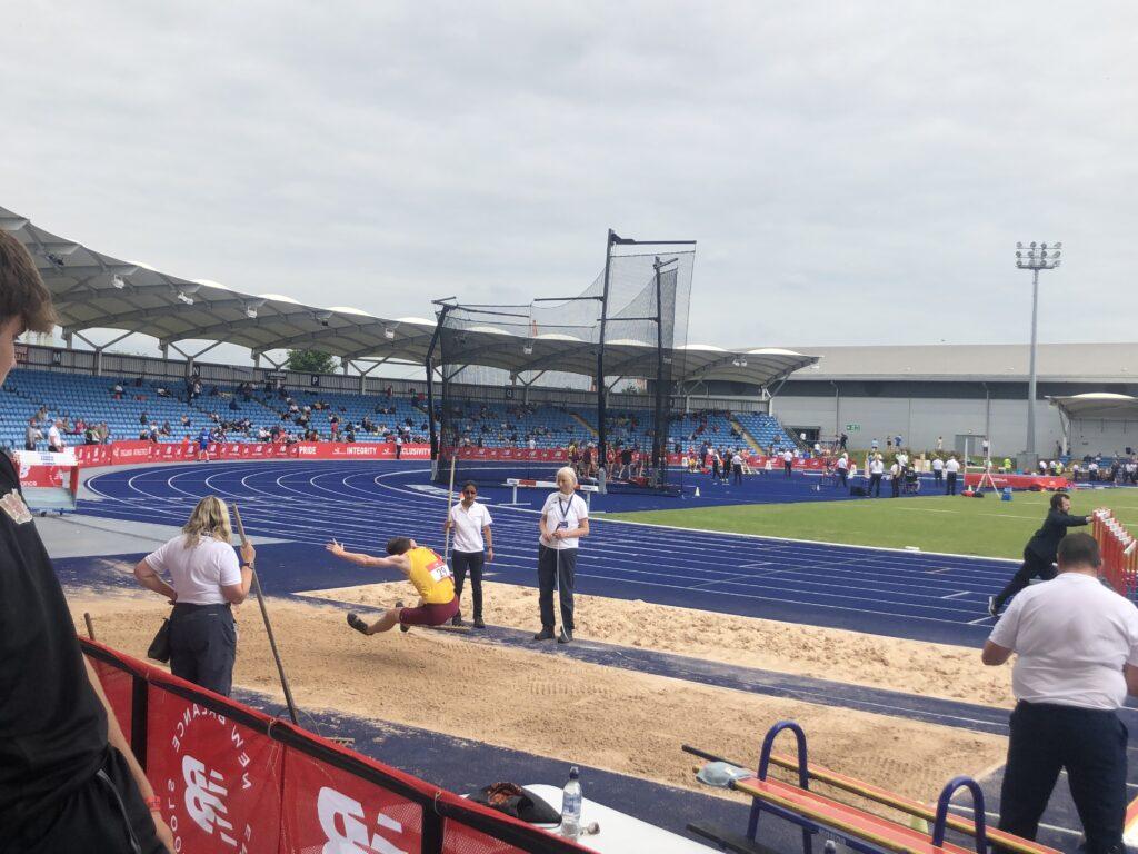 Long jump, Son, Athlete, English Schools, English Schools athletics