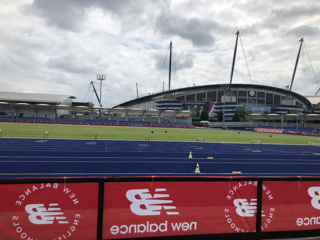 English Schools athletics, English Schools athletics national final, Ethiad Stadium, Manchester, Stadium, Athletics track, Silent Sunday, My Sunday Photo