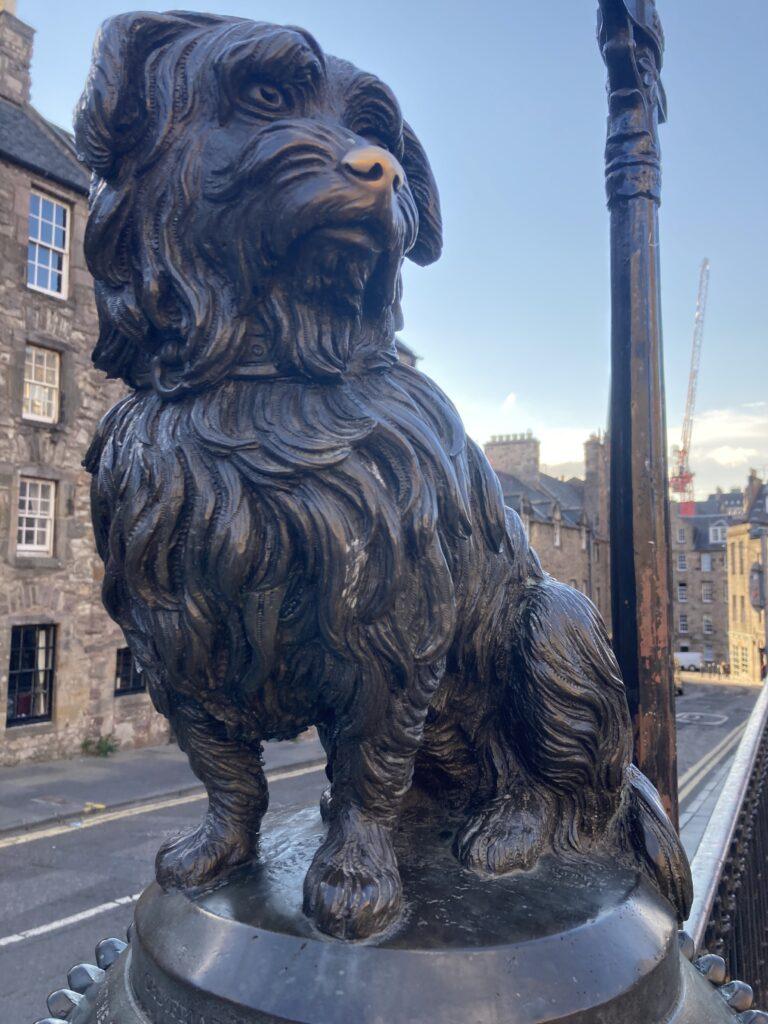 Greyfriars Bobby, Edinburgh, Scotland, City break, Holiday