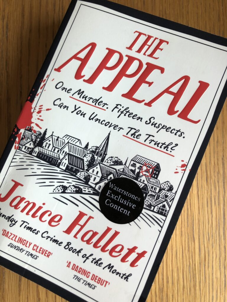 The Appeal, The Appeal by Janice Hallett, Janice Hallett, Book review