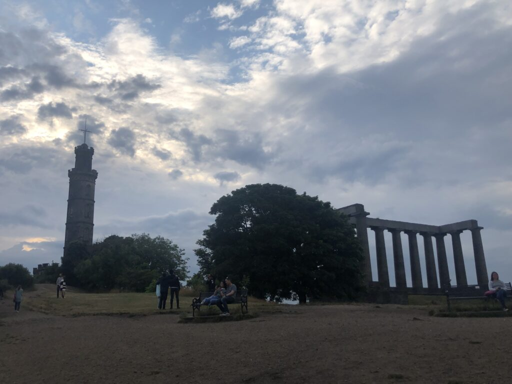 Calton Hill, Edinburgh, Scotland, City break, Holiday