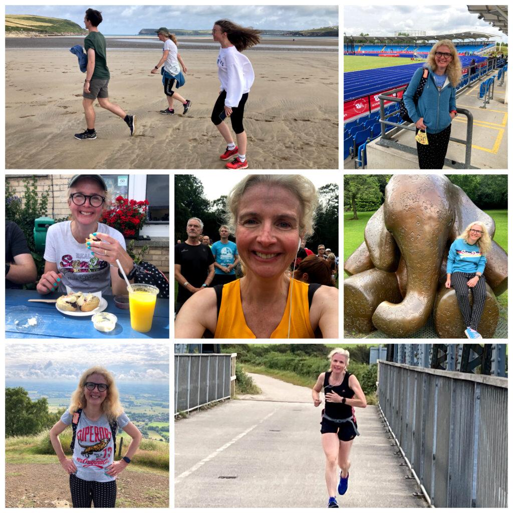 1000 hours outside, summer, Walking, running, Padstow, Edinburgh