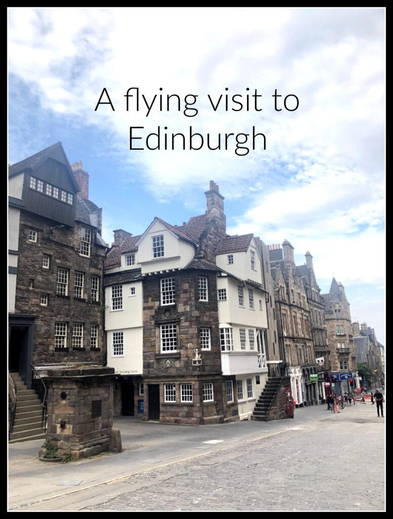 Edinburgh, Scotland, Holiday, City break