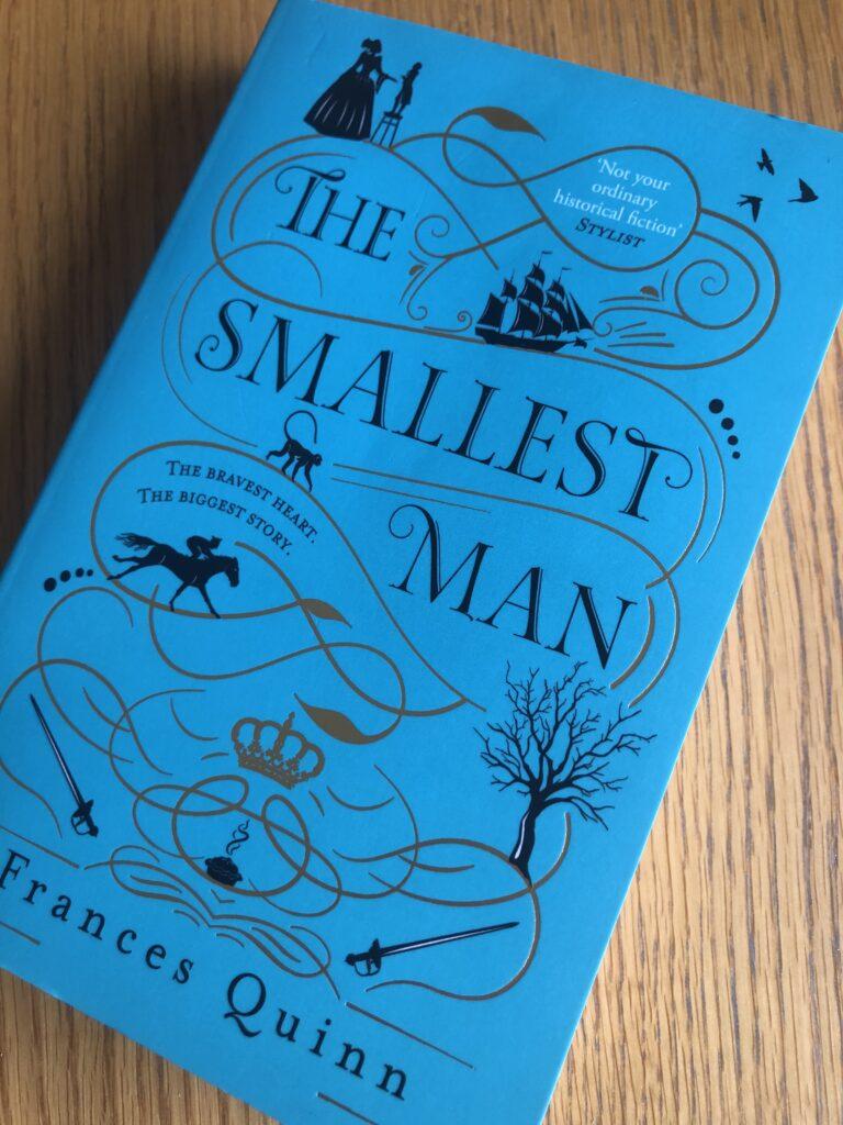 The Smallest Man, The Smallest Man by Frances Quinn, Frances Quinn, Book review