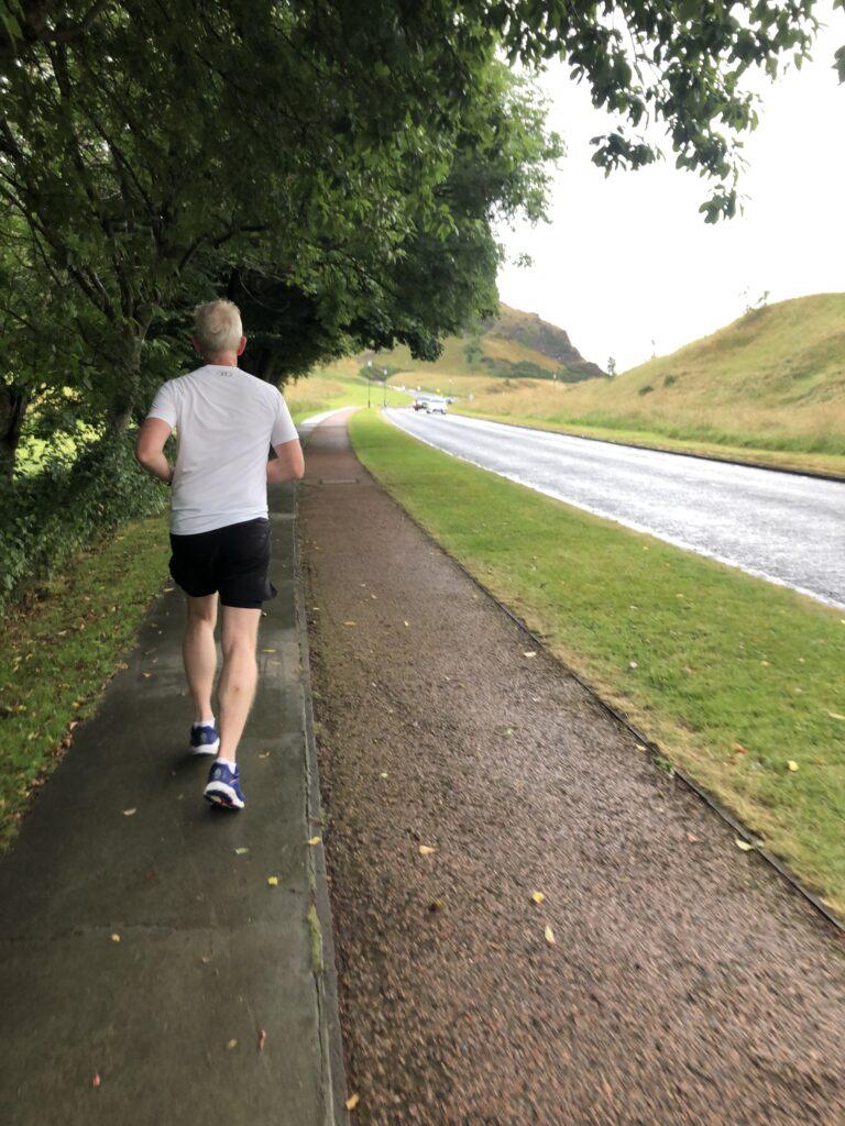 Husband, Runner, Running